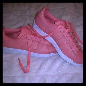Superstar Metal Rose Pink Adidas Shoe